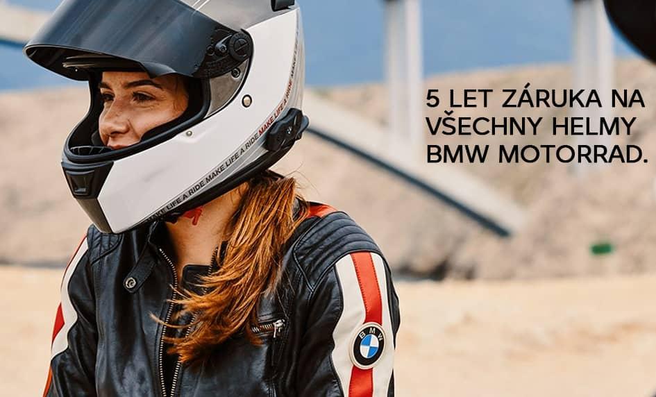 BMW Motorrad - 5 let záruky na helmy