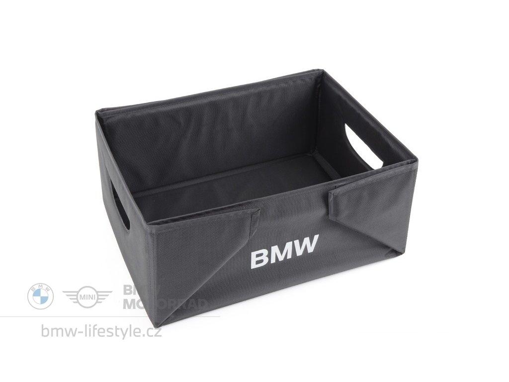 Skládací box do zavazadlového prostoru