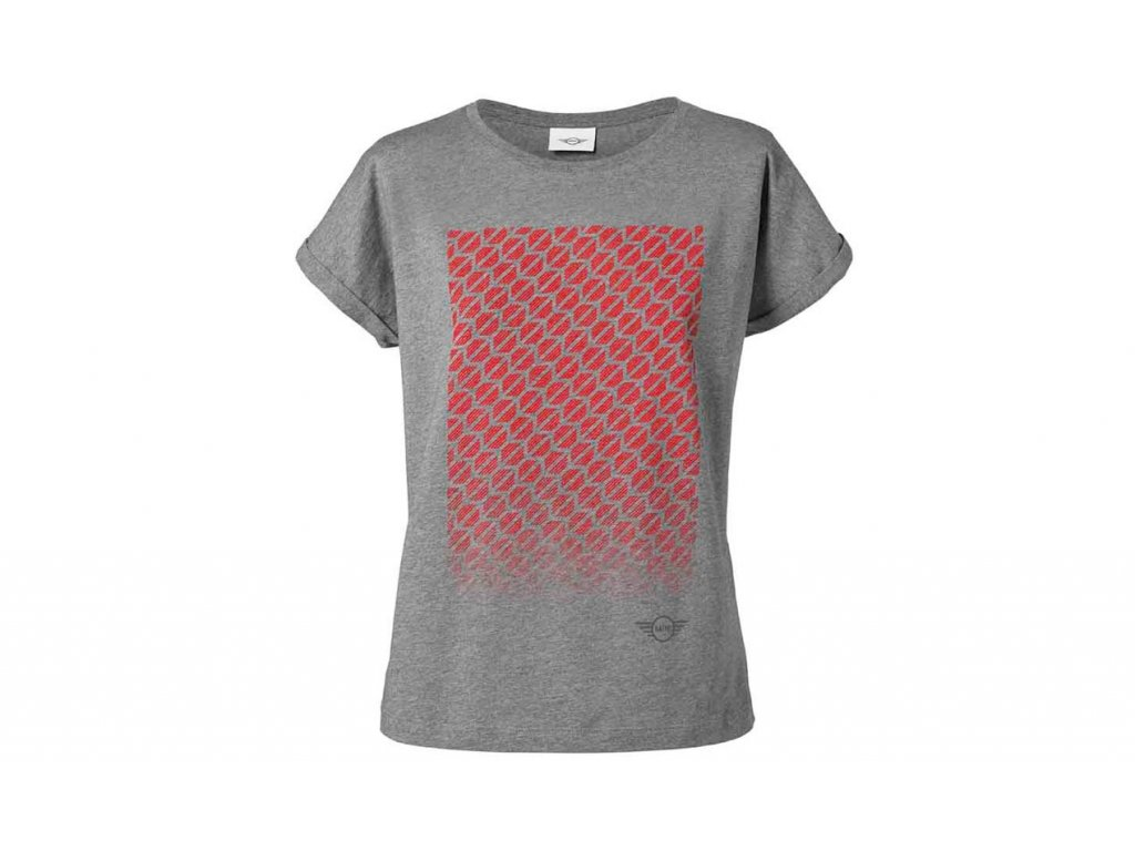 Dámské triko MINI SIGNET šedé (Velikost XL)