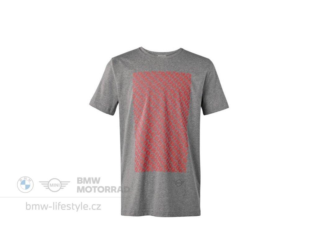 Pánské triko MINI SIGNET šedé (Velikost 3XL)