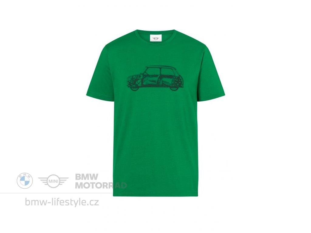 Pánské triko MINI 60 years Car Print (Velikost 3XL)