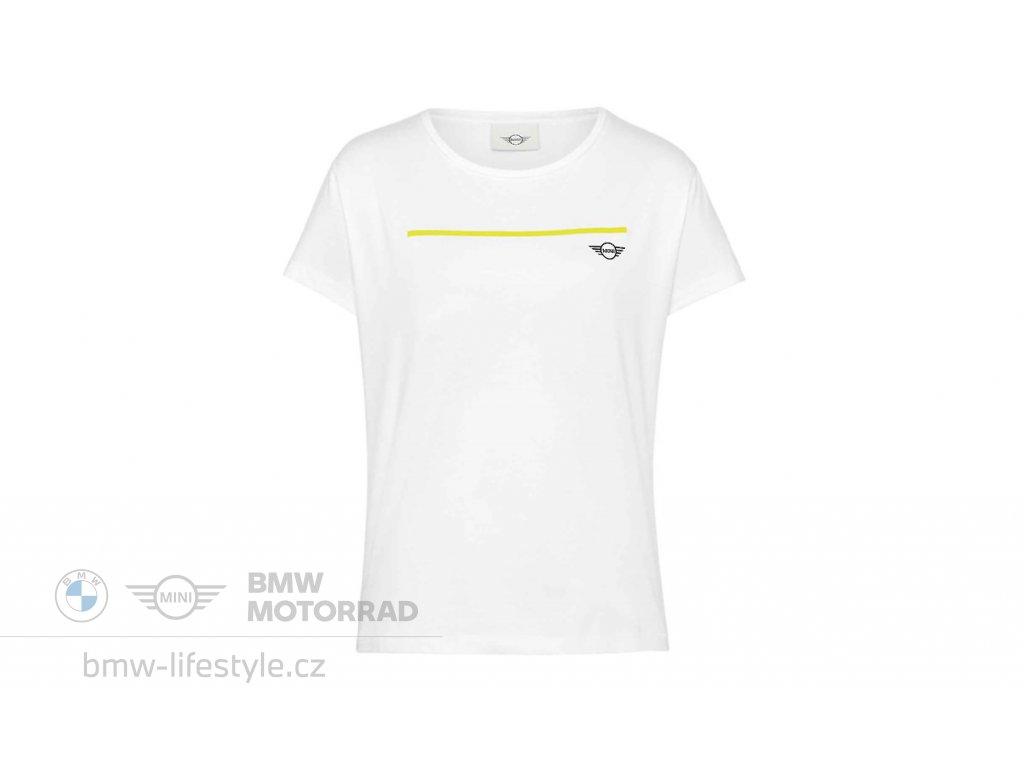 Dámské triko MINI Logo Energetic Yellow (Velikost XL)