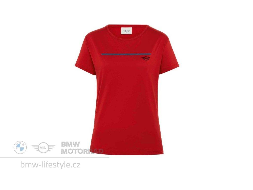 Dámské triko MINI Logo Chilli Red (Velikost XL)