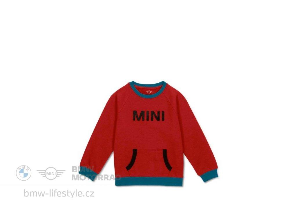 Dětská mikina MINI Chilli Red (Velikost 140)