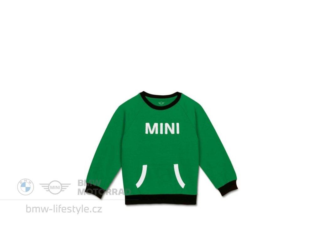 Dětská mikina MINI British Green (Velikost 140)