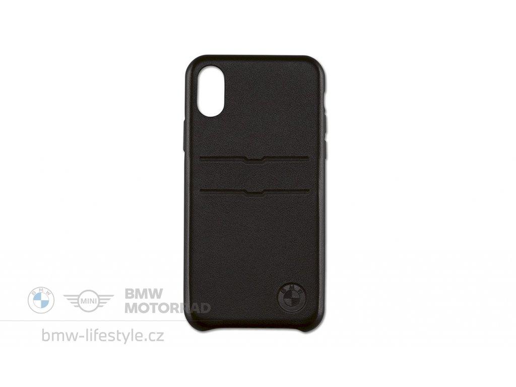 BMW kožený obal pro iPhone XS Max