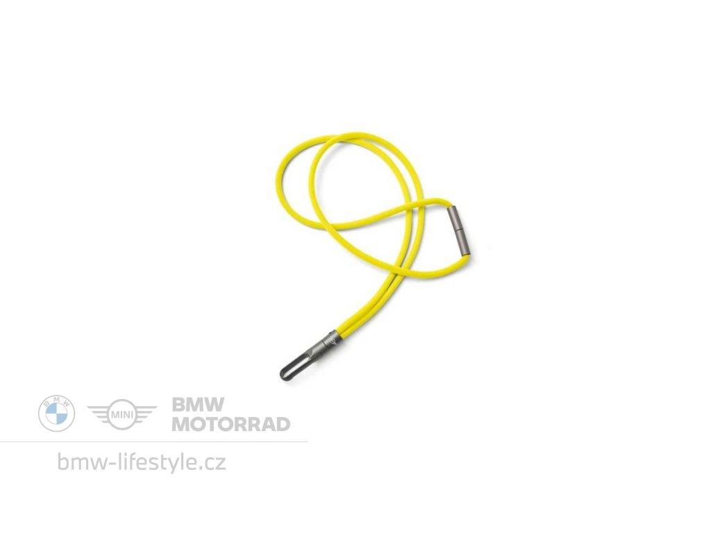 60262 privesek na krk mini energetic yellow