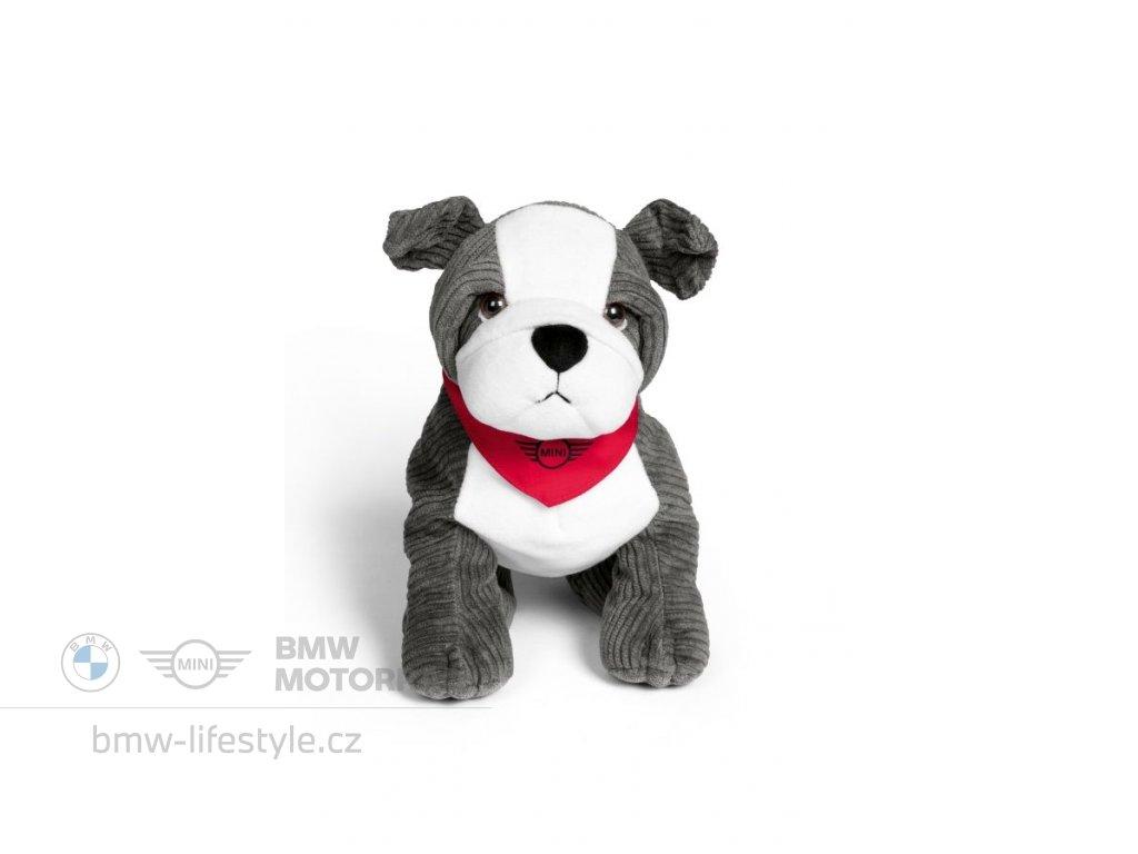 60556 mini plysovy bulldog