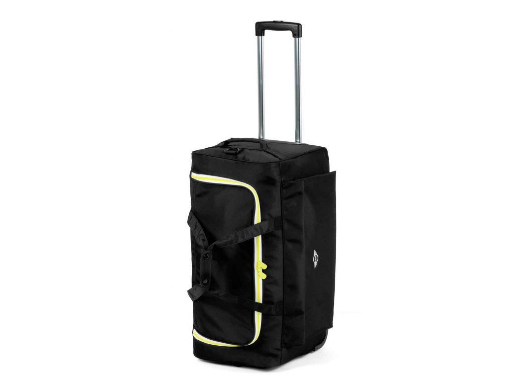 MINI Cestovní taška s kolečky Černá