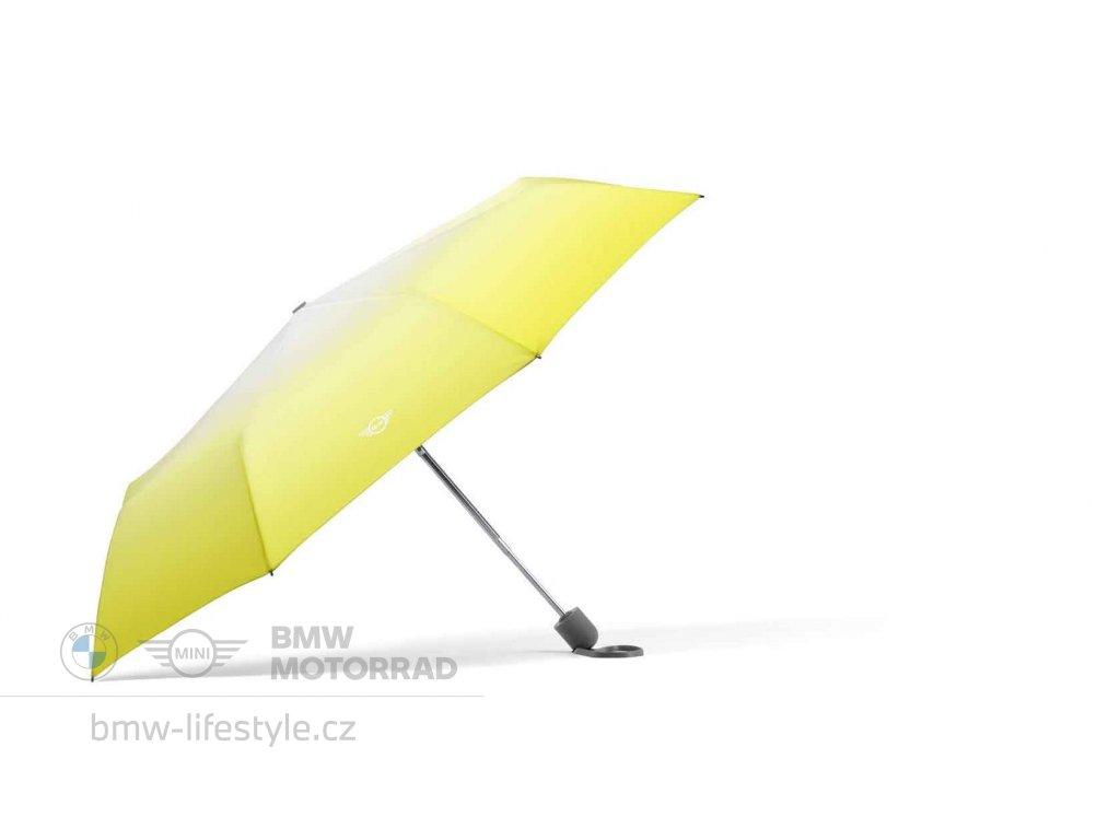 Skládací deštník MINI Gradient Energetic Yellow