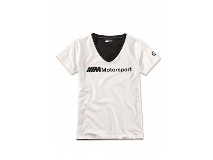 Dámské triko M Motorsport s logem