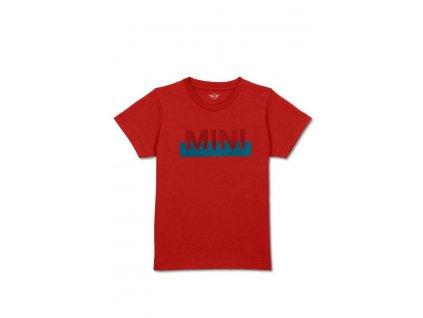 Dětské triko MINI Chilli Red (Velikost 140)
