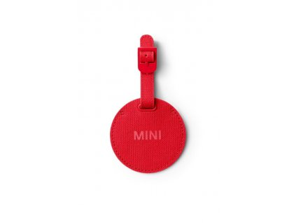 59419 mini jmenovka na zavazadla cervena