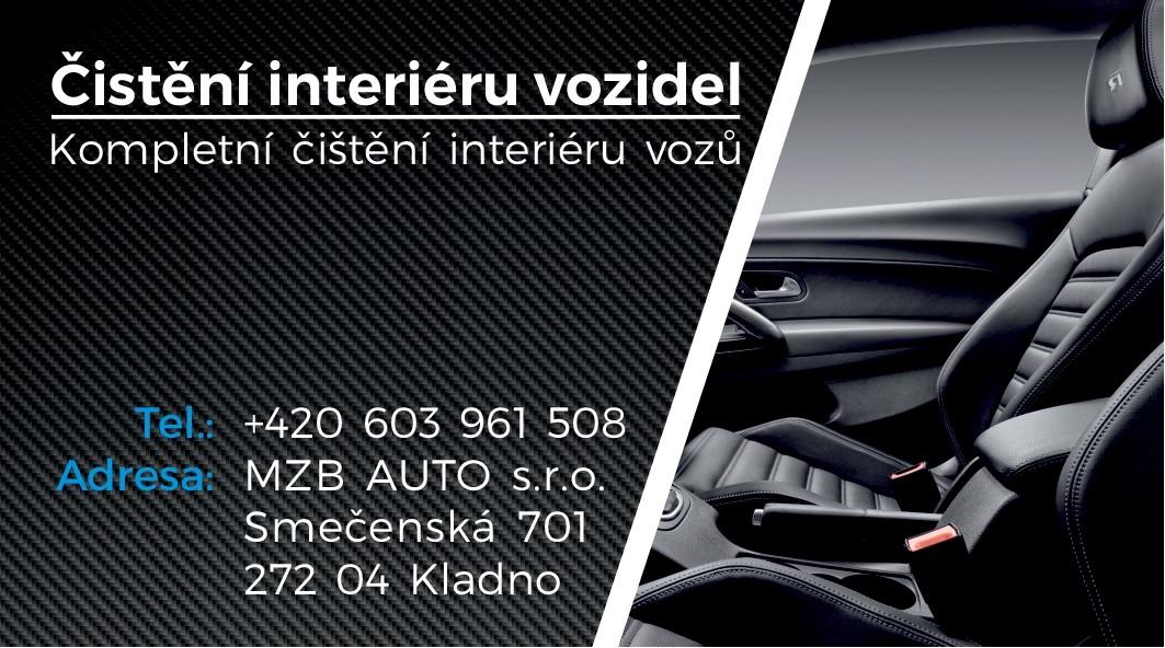 Detailní čištění interiérů vozů všech značek v Kladně