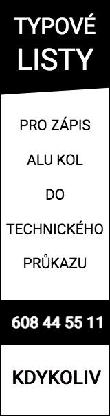 Typové listy pro zápis alu kol do technického průkazu