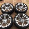 Zimní sada BMW M5 F10 STYLING 409M 9x20 5/120 ET32 a ET25 včetně zimních pneumatik 255/35 R20 DUNLOP