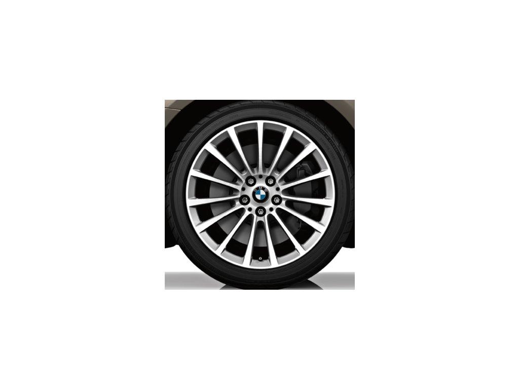 Letní sada alu kola BMW 7 G11 STYLING 619 8x18 ET30 5/112 s pneu 245/50 R18