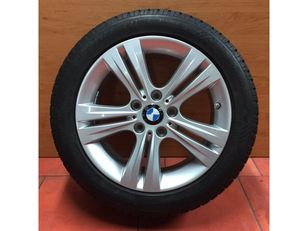 Zimní sada alu kola BMW F30, F32 STYLING 392 7,5x17 5/120 ET37 včetně zimních pneumatik 225/50 R17 94H DUNLOP Winter Sport 3D DSST a čidel tlaku RDC