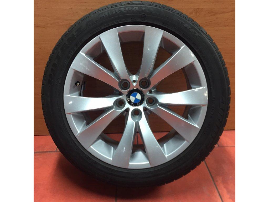 Letní sada alu kola BMW 6 E63 STYLING 248 8x18 5/120 ET14 včetně pneu 245/45 R18 96W Bridgestone RE050A RSC*