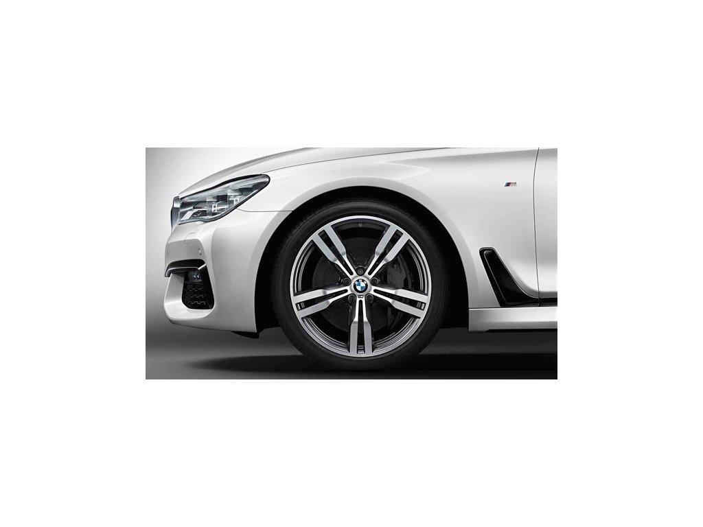 Letní sada BMW 7 G11 STYLING 648 8,5x20 a 10x20 s pneu 245/40 R20 a 275/35 R20 RSC a čidel tlaku RDC