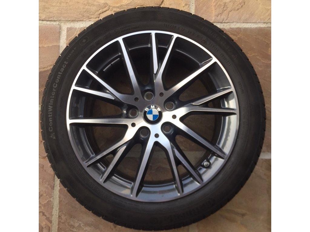 Zimní sada BMW 2 F45, F46 STYLING 489 7x17 5/112 ET47 včetně pneumatik 195/55 R17 88H Continental 830P*