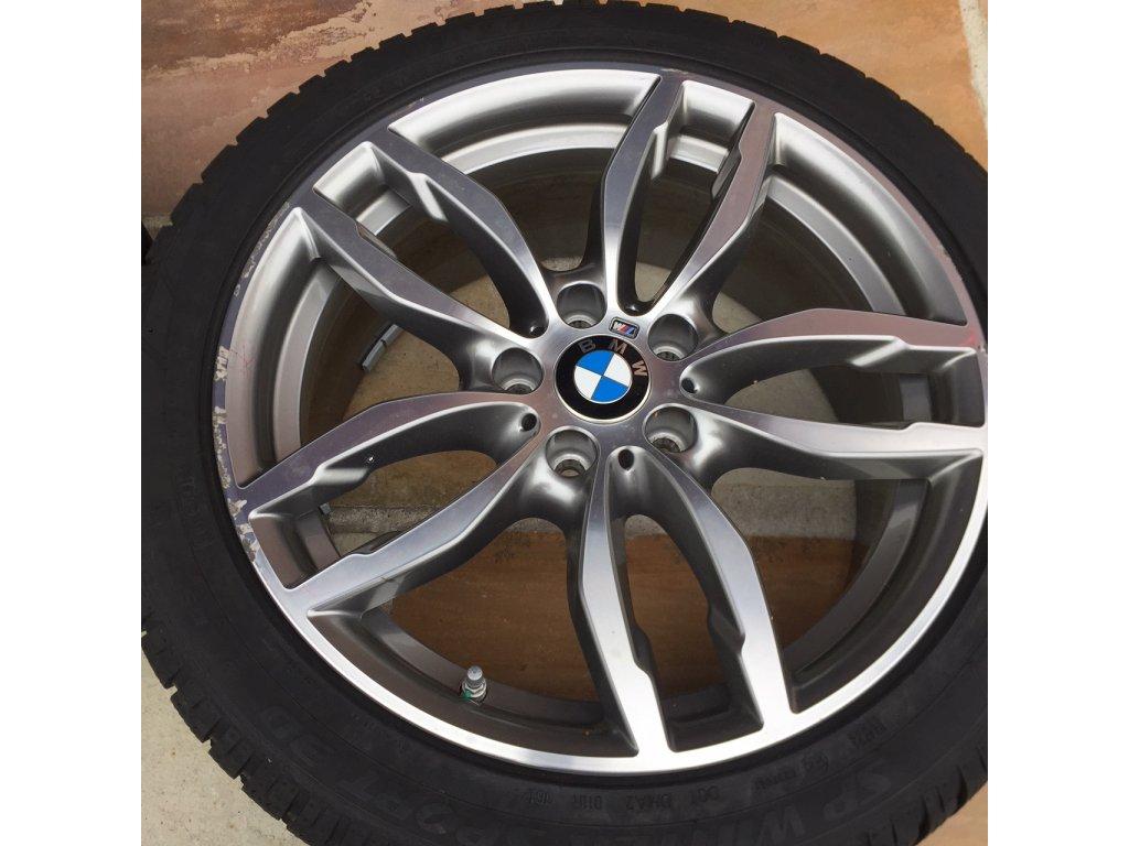Zimní sada BMW X3 F25 a X4 F26 STYLING 622 8,5x19 ET38 včetně pneumatik 245/45 R19 a čidel tlaku RDC