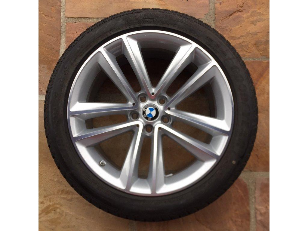 Zimní sada BMW 6 GT G32 a BMW 7 G11 STYLING 630 stříbrné 8,5x19 5/112 ET25 včetně zimních pneumatik 245/45 R19 102V Xl GOODIEAR Ultra Grip 8 RSc a čidel tlaku RDC