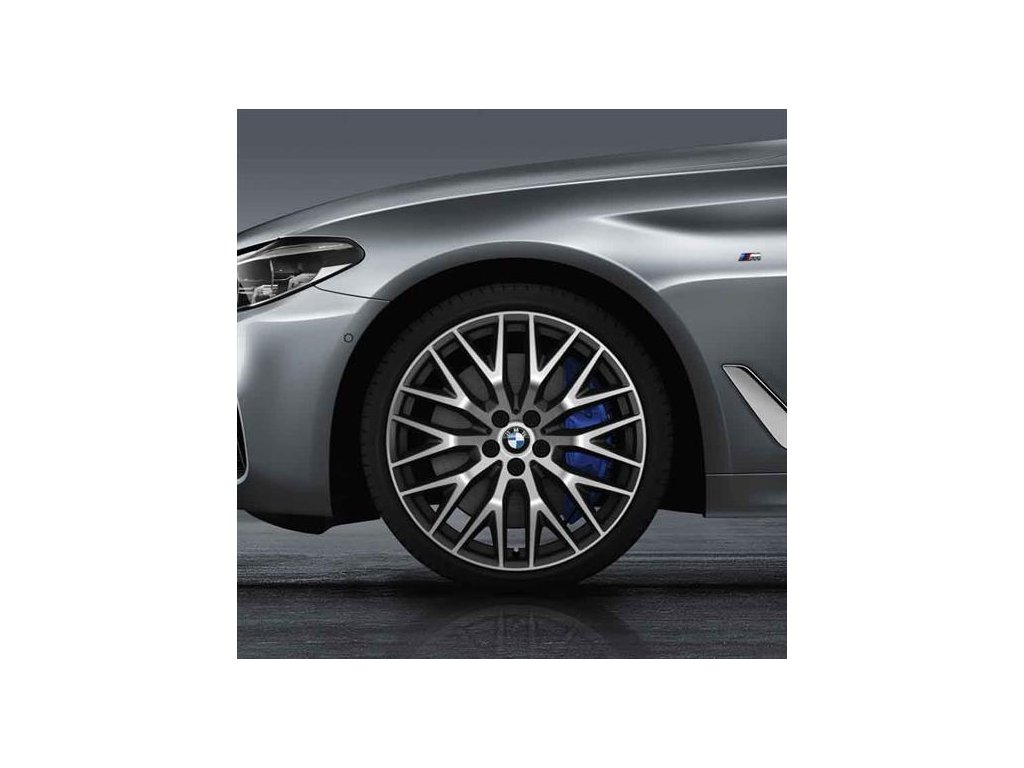 Letní sada BMW G30 STYLING 636 8x20 ET30 a 9x20 ET44 včetně pneumatik 245/35 R20 95Y a 275/30 R20 97Y Goodyear Eagle F1 Asymmetric 3* RSC a čidla tlaku RDC