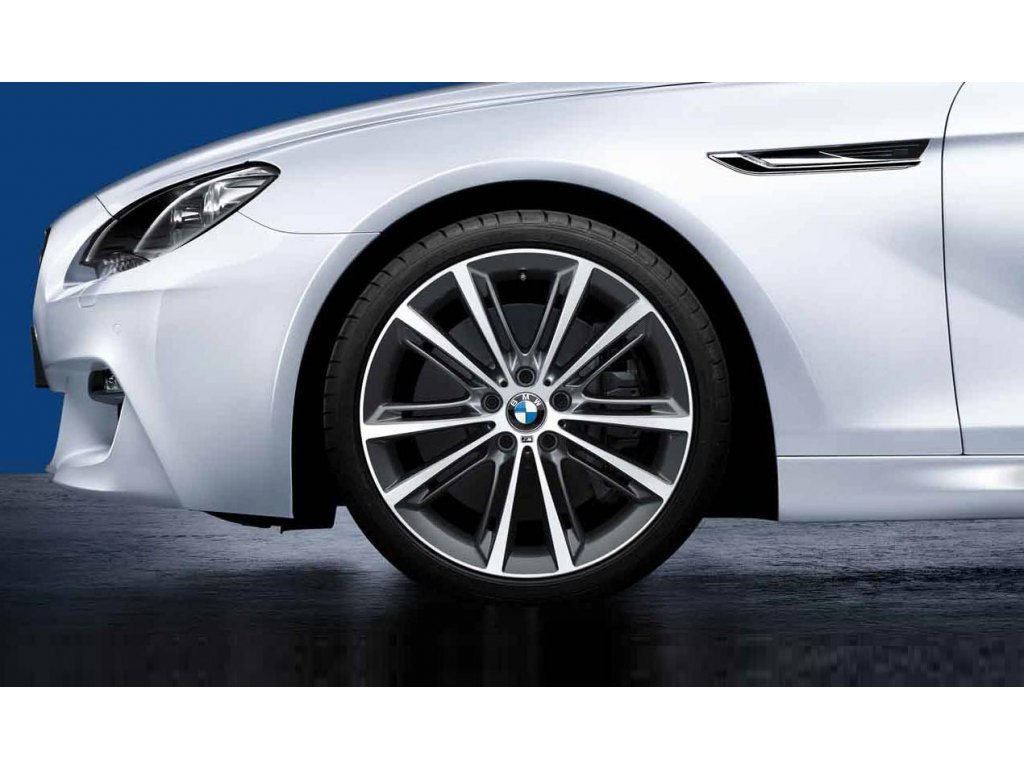 Letní sada BMW 5 F10 STYLING M464 Performance 8,5x20 ET33 a 9x20 ET44 včetně pneumatik 245/35 R20 95Y a 275/30 R20 97Y Dunlop SP Sport Maxx GT* RSC a čidel tlaku RDC