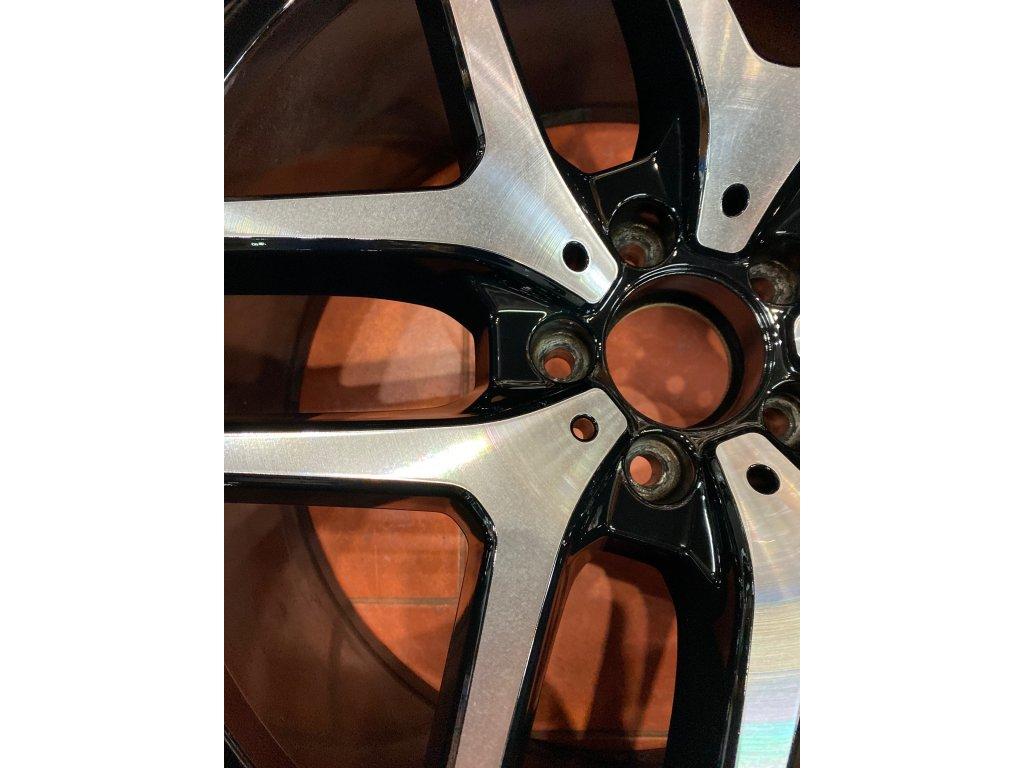 Opravy čelních ploch alu kol BMW