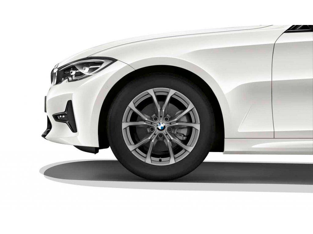 Zimní sada BMW 3 G20, G21 Styling 776 v rozměru 7,5x17 ET30 včetně pneumatik 225/50 R17 98H XL Pirelli Winter Sottozero 3* RSC a čidel tlaku RDCi.