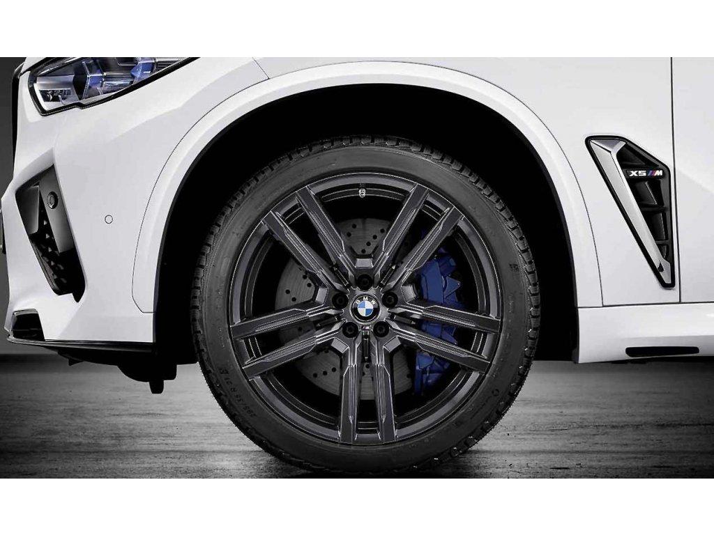 Zimní sada BMW X5M F95 a X6M F96 STYLING M808 v rozměrech 10,5x21 ET31 a 11x21 ET48 včetně pneumatik 295/35 R21 107V XL Michelin Pilot Alpin 5 SUV* a čidel tlaku RDCi