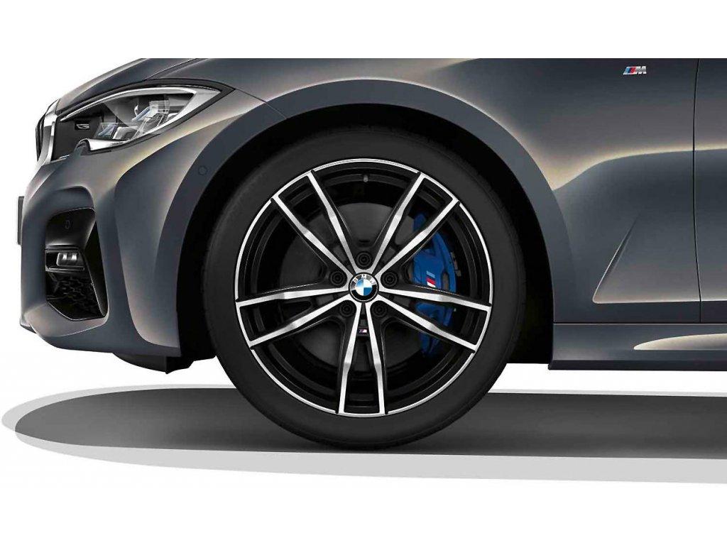Originální letní sada BMW 3 G20 a BMW 4 G22 STYLING M791 v rozměru 8x19 ET27 a 8,5x19 ET40 včetně pneumatik 225/40 R19 93Y XL a 255/35 R19 96Y XL Eagle F1 Asymmetric 3* RSC a čidel tlaku RDCi