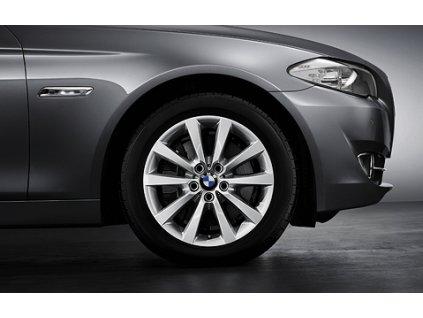 Zimní sada alu kola BMW F10 STYLING 328 8x18 5/120 ET30 včetně zimních pneumatik 245/45 R18 Pirelli W240 Sottozero II* RSC