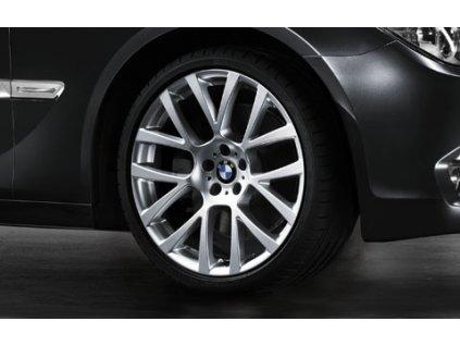 Zimní sada alu kola BMW 7 F01 a GT F07 STYLING 238 8x18 5/120 ET30 včetně zimních pneumatik 245/50 R18 100H HANKOOK W310 RSC a čidel tlaku RDC
