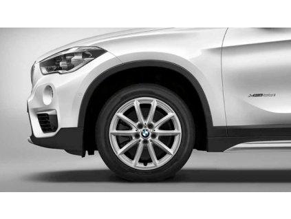 Zimní sada alu kola BMW X1 F48, X2 F39  STYLING 560 7,5x17 5/112 ET52 včetně zimních pneumatik 225/55 R17 97H Pirelli Winter Sottozero 3* a čidel tlaku RDC