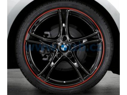 Letní sada alu kola BMW F20, F22 STYLING 361 7,5x19 ET45 a 8x19 ET52 5/120 s pneu 225/35 R19 a 245/30 R19 Pirelli P ZERO RSC*