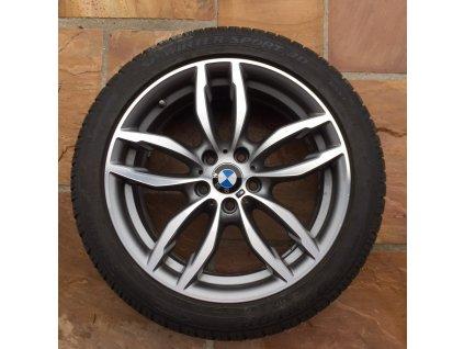 Zimní sada BMW X3 F25 a X4 F26 STYLING 622 8,5x19 ET38 včetně pneumatik DUNLOP 245/45 R19 102V a čidel tlaku RDC