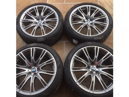 Zimní sada BMW 7 G11 a BMW 6 GT G32 STYLING 649 8,5x20 ET25 a 10x20 ET41 včetně zimních pneumatik 245/40 R20 a 275/35 R20 Pirelli a čidel tlaku RDC