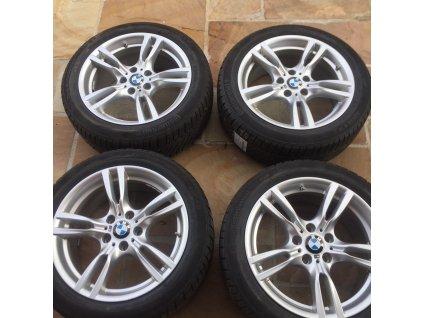 Zimní sada BMW 3 GT F34 STYLING 400M 8x18 5/120 ET34 včetně pneumatik 225/50 R18 Continental TS830P RSC a čidel tlaku RDC