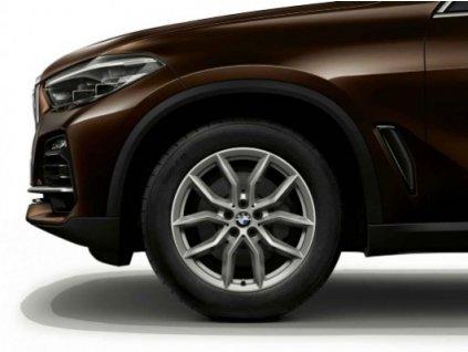 Zimní sada BMW X5 G05 a x6 G06 STYLING 734 9x19 5/112 ET38 včetně zimních pneumatik 265/50 R19 110H Bridgestone Blizzak LM-001* RSC