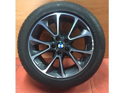 Zimní sada BMW X5 F15 STYLING 449 9x19 ET48 včetně zimních pneumatik 255/50 R19 107V Pirelli Scorpion Winter RSC 5 mm a čidel tlaku RDC
