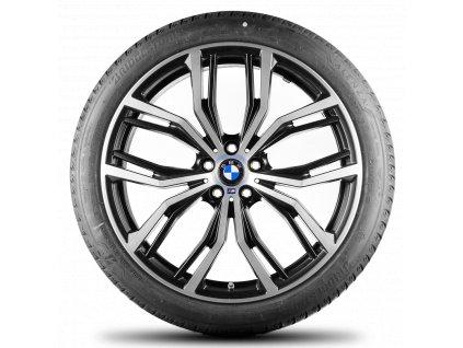 Letní sada BMW X3 G01 a X4 G02 STYLING M701 PERFORMANCE v rozměrech 8,5x21 ET30 a 9,5x21 ET43 včetně pneumatik 245/40 R21 100Y a 275/35 R21 103Y Bridgestone ALENZA 001* RSC a čidle tlaku RDCi