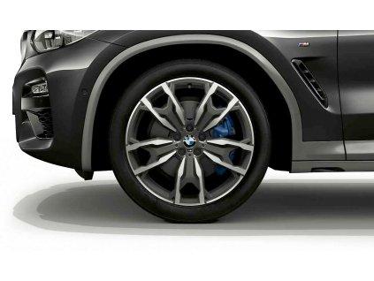 Letní sada BMW X3 G01 a X4 G02 STYLING M787 v rozměrech 8x20 ET27 a 9,5x20 ET43 včetně pneumatik 245/45 R20 103W a 275/40 R20 106W Pirelli P-Zero* RSC a čidel tlaku RDCi