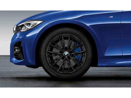 Zimní sada BMW 3 G20, G21 STYLING M796 7,5x18 ET25 včetně pneumatik 225/45 R18 95V XL Pirelli Winter Sottozero 3* RSC a čidel tlaku RDCi