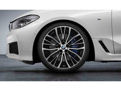 Originální letní sada BMW 7 G11 STYLING 687 v rozměrech 8,5x21 ET25 a 10x21 ET41 včetně pneumatik 245/35 R21 96Y XL a 275/30 R21 98Y XL Pirelli P ZERO RSC* a čidel tlaku RDCi