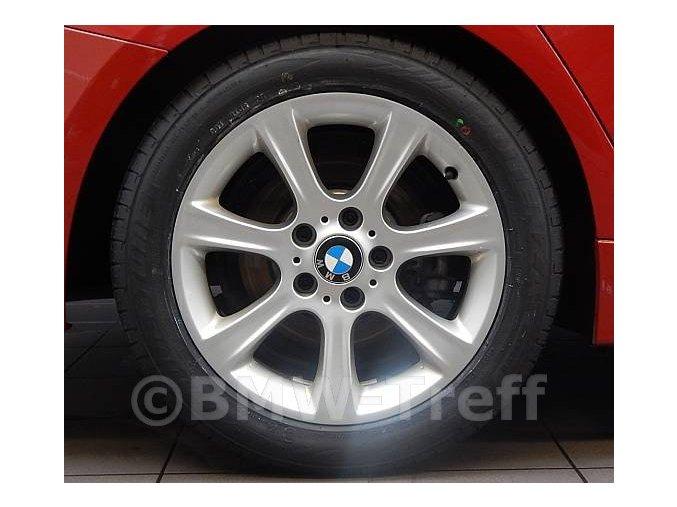 Originální alu kola BMW 3 GT F34 STYLING 394 8x17 ET34 5/120 s pneu 225/55 R17 letní sada