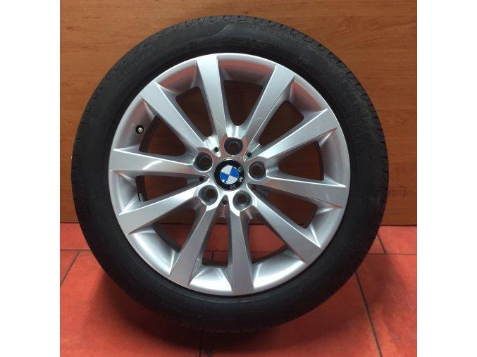Letní sada BMW F10, E60 STYLING 328 8x18 5/120 ET30 s pneu 245/45 R18 96Y Pirelli RSC