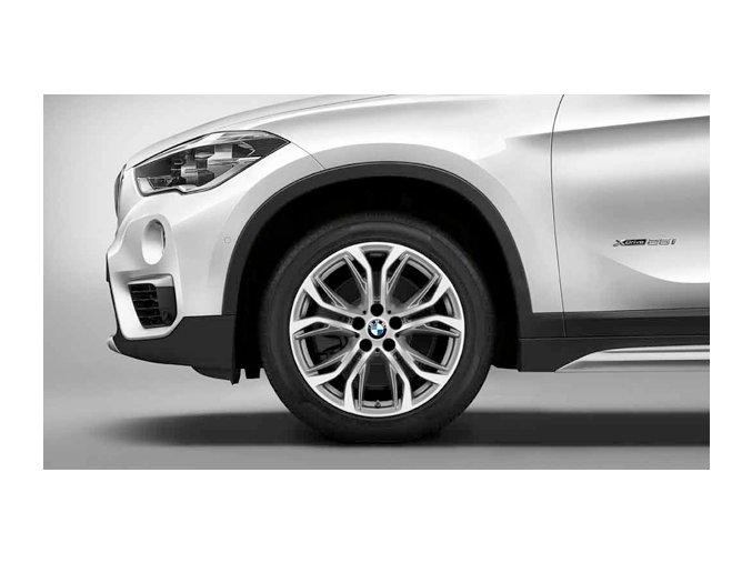 Zimní sada alu kola BMW X1 F48 STYLING 566 7,5x18 5/112 ET51 včetně zimních pneumatik 225/50 R18 95H Bridgestone Blizzak LM001* RSC