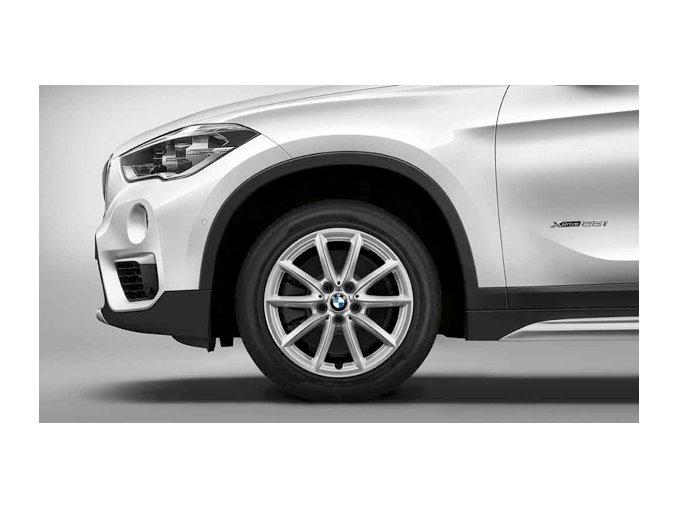 Zimní sada alu kola BMW X1 F48 STYLING 560 7,5x17 5/112 ET52 včetně zimních pneumatik 225/55 R17 97H Goodyear Ultra Grip 8 Performance* a čidel tlaku RDC